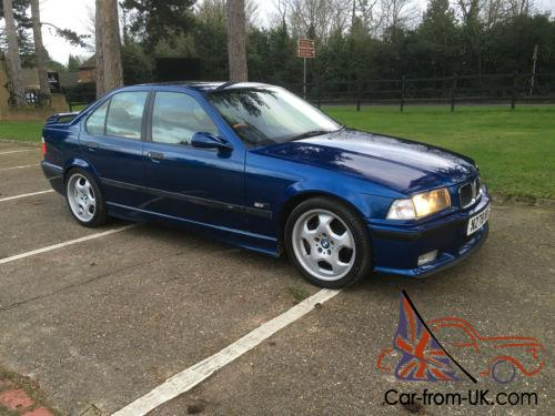 1995 BMW M3 e36 Saloon Avus BLUE Mint condition classic collector car
