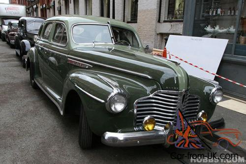 1941 buick series 60 special 8 sedan 4 door manaul green for 1941 buick 4 door sedan