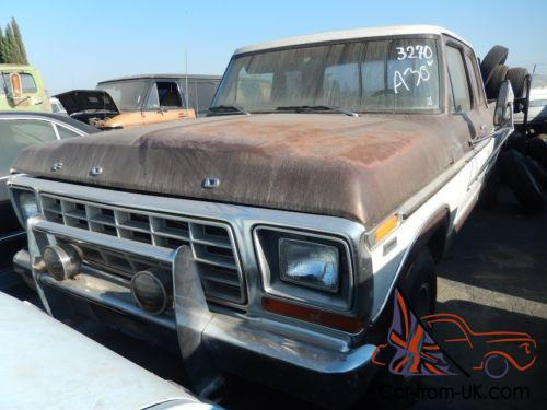 1978 ford f350 extended cab pickup not a sign of rust all. Black Bedroom Furniture Sets. Home Design Ideas