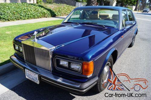12k In Miles >> 1985 Rolls Royce Silver Spirit Spur Dawn Centenary Edition With 12k Miles