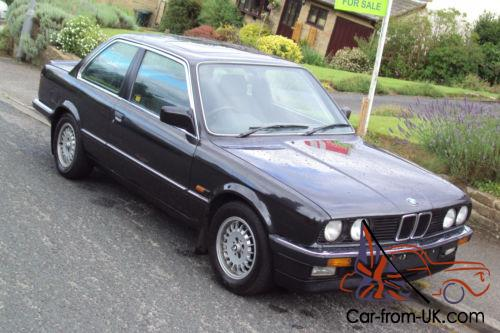 1986 c e30 bmw 325i black early spec 1 family owned from new. Black Bedroom Furniture Sets. Home Design Ideas