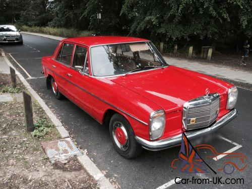 Mercedes 220d 1973 w115 for Mercedes benz w115 for sale