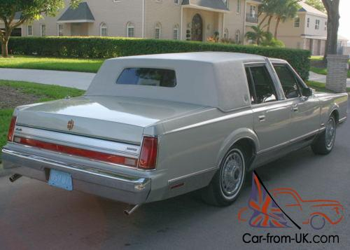 1988 Lincoln Town Car Aha Formal Florida 44k Mi