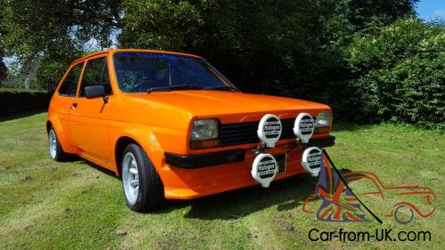 modified ford mk1 fiesta 1760 rs flavoured. Black Bedroom Furniture Sets. Home Design Ideas