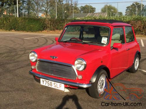 2001 Y Rover Mini Seven Last Edition 27k Miles Full Documented