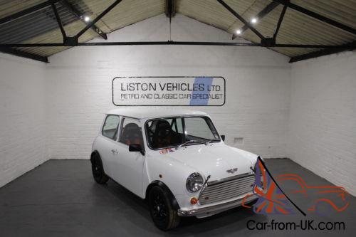 For Sale 1995 Rover Mini Cooper 13i White Mighty Mini