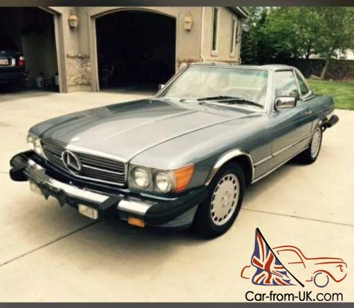 Mercedes 560sl sl convertible 1986 lhd classic collectable for Mercedes benz sports car convertible