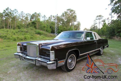 1979 Lincoln Town Car Coupe 2 Door Video Inside 77 Pics Free Shipping