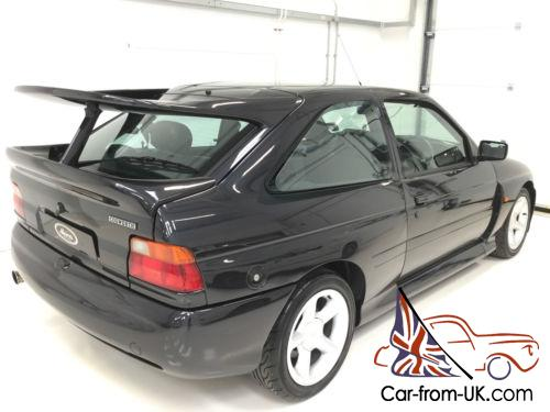 immaculate ford escort cosworth ash black big turbo for sale. Black Bedroom Furniture Sets. Home Design Ideas
