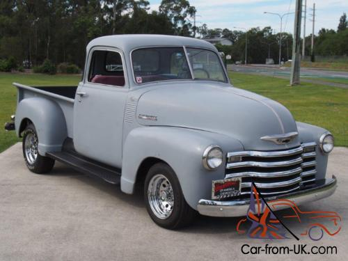 1950 chevy 3100 5 window pickup truck thrift master ute in qld for 1950 chevrolet 5 window pickup
