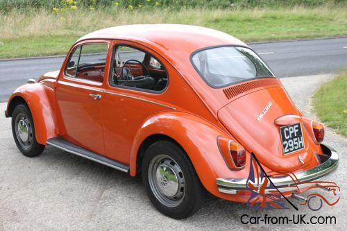 Original And Untouched 1970 Classic Vw Beetle 1300 In