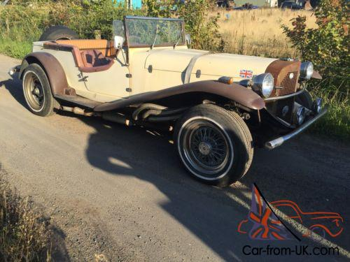 Barn Find 1969 Mercedes Kit Car Creambrown Ford Pinto Engine