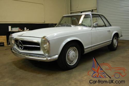 1966 mercedes benz 230 sl class for Mercedes benz fixed price servicing costs