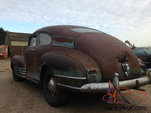 1947 Chevrolet Chevy Fleetline Aero Sedan 2 Door Project