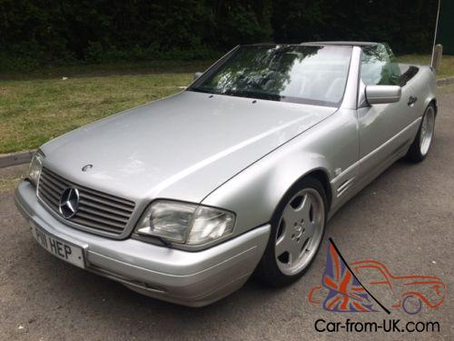 1998 mercedes sl 320 convertible automatic. Black Bedroom Furniture Sets. Home Design Ideas