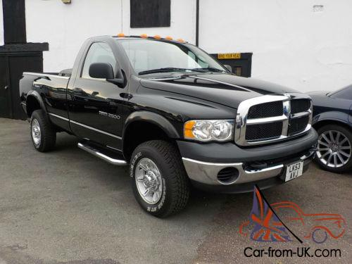 2004 dodge ram 2500 5 9 litre cummins diesel regular cab long bed 48 000 miles. Black Bedroom Furniture Sets. Home Design Ideas