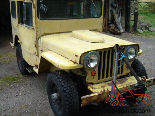 Willys Jeep Ww2 1943 Willys Mb Military Vehicle Classic Car Barn Find