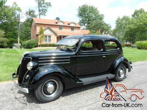 1936 ford tudor sedan 2 door slantback no reserve v8 for 1936 ford 4 door sedan for sale