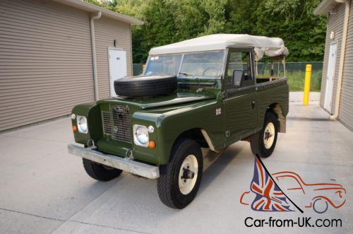 1970 Land Rover Defender Series 2a Convertible Sel Photo