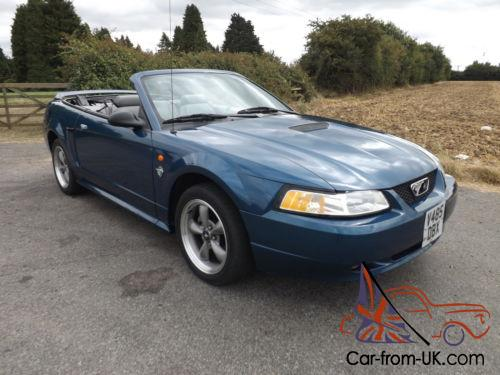 1999 ford mustang 4 6 gt convertible 36000 miles. Black Bedroom Furniture Sets. Home Design Ideas