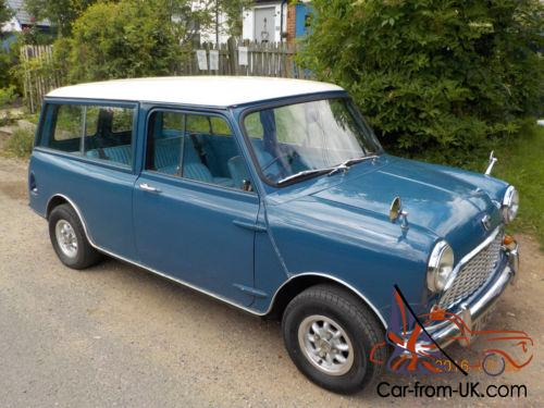 austin mini countryman traveller estate 1967 mk1 blue. Black Bedroom Furniture Sets. Home Design Ideas