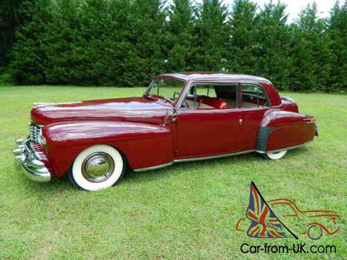 1948 lincoln continental continental v12 coupe. Black Bedroom Furniture Sets. Home Design Ideas