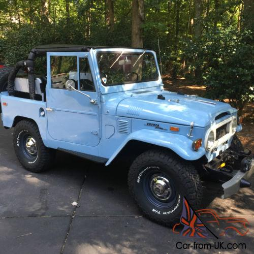 Toyota Fj40 Hardtop For Sale: 1970 Toyota Land Cruiser FJ40