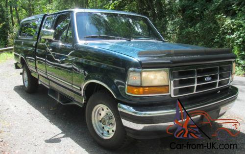 1995 Ford F150 XLT. extended cab full size 1/2 tonne pickup. Very low miles for the year. being driven about 6. 00 miles per year. Automatic with full size ... & Ford F-150