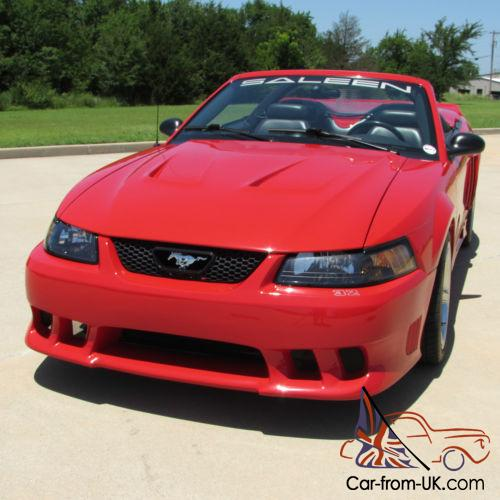 Supercharged Mustang Tires: 2002 Ford Mustang Saleen