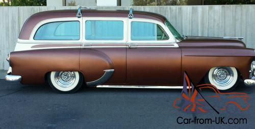 1953 Chevrolet Bel Air 150 210 Tin Woody Station Wagon