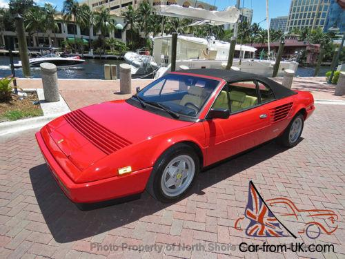 1988 ferrari mondial 3 2 cabriolet 1988 5. Black Bedroom Furniture Sets. Home Design Ideas