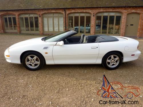 Chevrolet Camaro Convertible 3 8 Auto 1998 Covered 47 000 Miles From New Photo