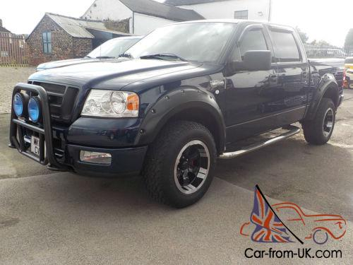 2004 FORD F150 FX4 OFF ROAD EDITION 4 DOOR 4X4 PICKUP