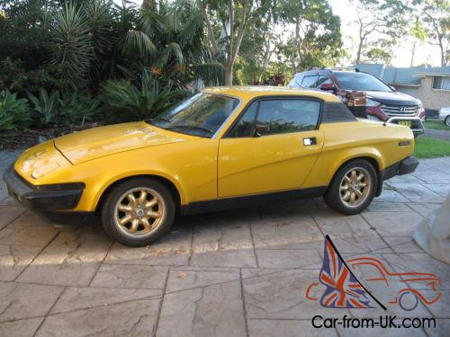 Triumph Tr7 Worked 3 5l V8 In Nsw