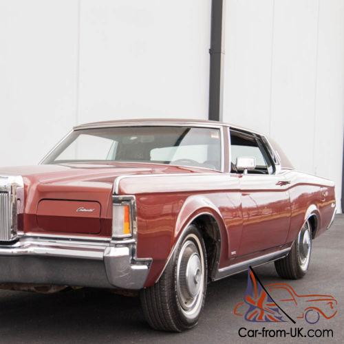 1999 Lincoln Continental For Sale: 1970 Lincoln Continental MK III