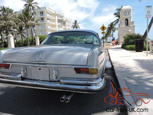 1970 mercedes benz 280se coupe for Mercedes benz delray beach