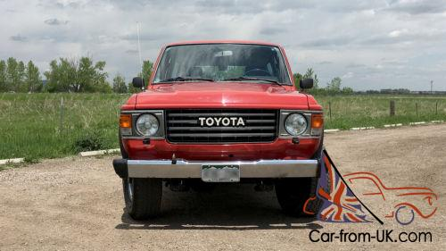 Toyota Land Cruiser Colorado Mats >> 1985 Toyota Land Cruiser