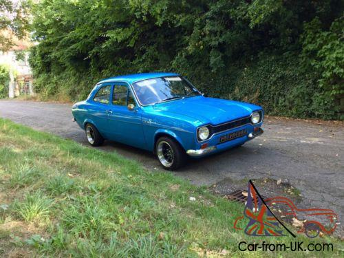 1972 Mk1 Ford 1300 Sport Electric Blue 6 Owners Stunning Photo