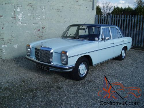 Mercedes benz w115 220 auto 1972 for Mercedes benz w115 for sale