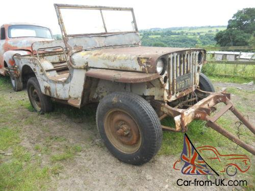 1944 willys jeep mb for restoration us import military vehicle classic car. Black Bedroom Furniture Sets. Home Design Ideas