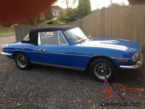 Triumph Stag 1972 V8 35 Rover Engine Would Part Exchange For