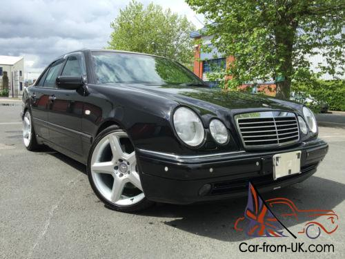 Extremely rare w210 mercedes e60 amg 65k lhd 1 of 200 for Mercedes benz e60 for sale