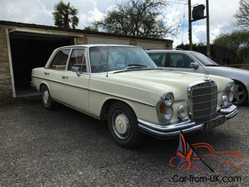 1970 mercedes benz 280se w108 for Mercedes benz w108 for sale