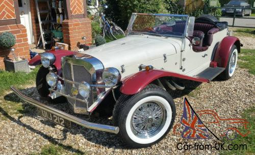 Mercedes Ssk Gazelle 1929 Replica New Parts Not A Kit Car Ford Based