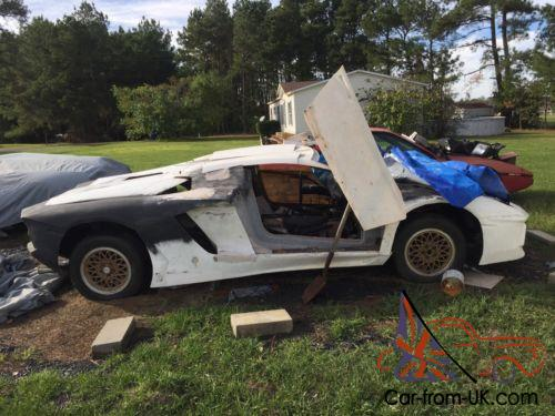 1988 Replica Kit Makes Lamborghini Aventador Kit Car