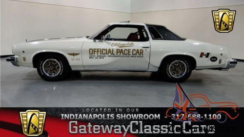 1974 oldsmobile cutlass salon w30 pace car for 1974 oldsmobile cutlass salon