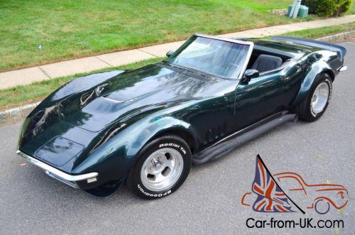 1968 Chevrolet Corvette Convertible Bb 427 4 Spd 3x2 No Reserve Photo