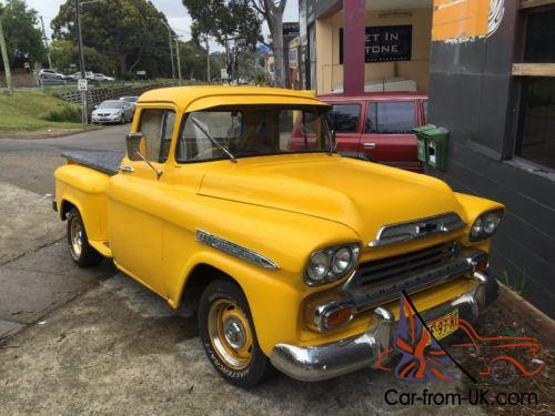 Chevy Apache 1957 Right Hand Drive In Nsw