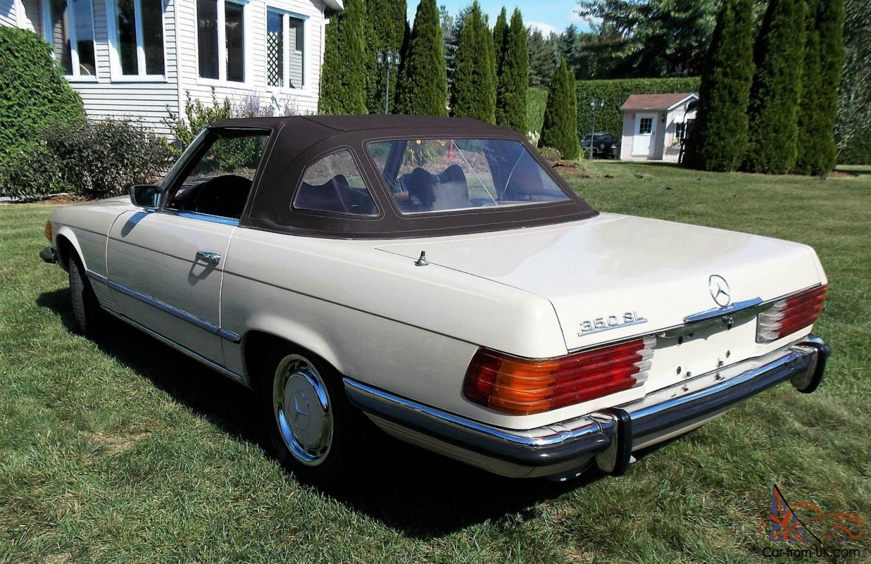 Mercedes benz 350 sl convertible with hard and soft top for Mercedes benz convertible tops