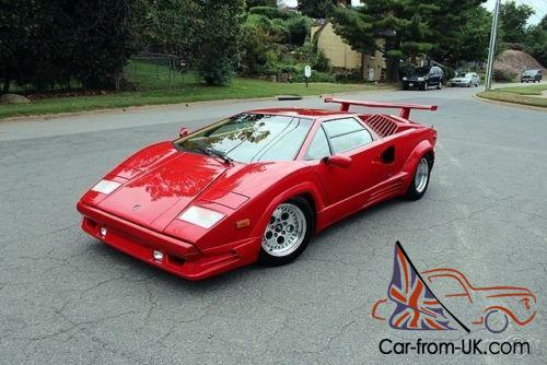 1989 lamborghini countach lamborghini countach 25th. Black Bedroom Furniture Sets. Home Design Ideas